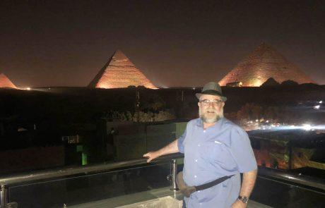 ביקור נדיר בארץ הפירמידות